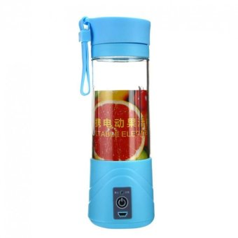 Harga Shake n Go - Juice Blender Portable and Rechargeable Battery - Blue
