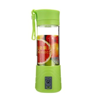 Harga Shake n Go - Juice Blender Portable and Rechargeable Battery - Green