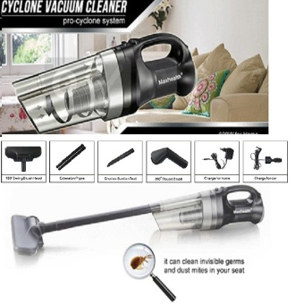 Harga Paling Laku Turbo Cyclone Vacuum Cleaner - Vacum cleaner Cyclone- Hitam