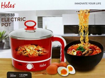 Harga Heles Electric Pot HL-538