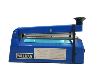 Harga Willman Impulse Hand Sealer/ Alat Press Plastik FS 200 - Biru