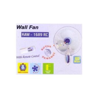 Kipas Angin Dinding / Wall Fan Miyako Kaw-1689 Rc Remote