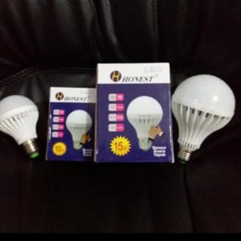 Lampu Bohlam Led Sensor Suara 15Watt / Lampu Tepuk 15 Watt - Ac777d