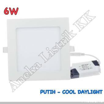 harga Lampu Downlight Panel Led 6W Putih Kotak 6Watt Tipis Plafon Rumah - 393957 Lazada.co.id