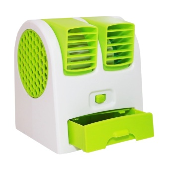 Mini Ac Portable Fan Twin Kipas Angin Duduk