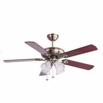 harga MT EDMA 52IN Ultra Ceiling Fan [Kipas Angin Plafon] Dengan Lampu Hias Lazada.co.id
