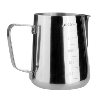 Profesional Buih Kendi Membuka Desain Lama Teh Susu Panas Cangkir Latte Teko Cangkir Busa Alat Memasak