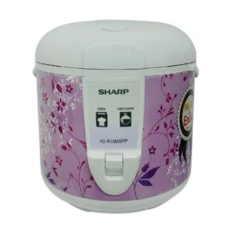 Sharp Rice Cooker KS- R18MS- PP - 1.8 L - Purple garansi resmi