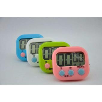 Timer Masak warna Digital Kitchen Alarm LCD Besar murah