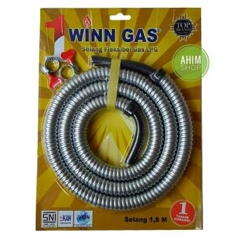 Winn Gas(R) New Model SELANG 1.8M Fleksibel Gas LPG SNI u/