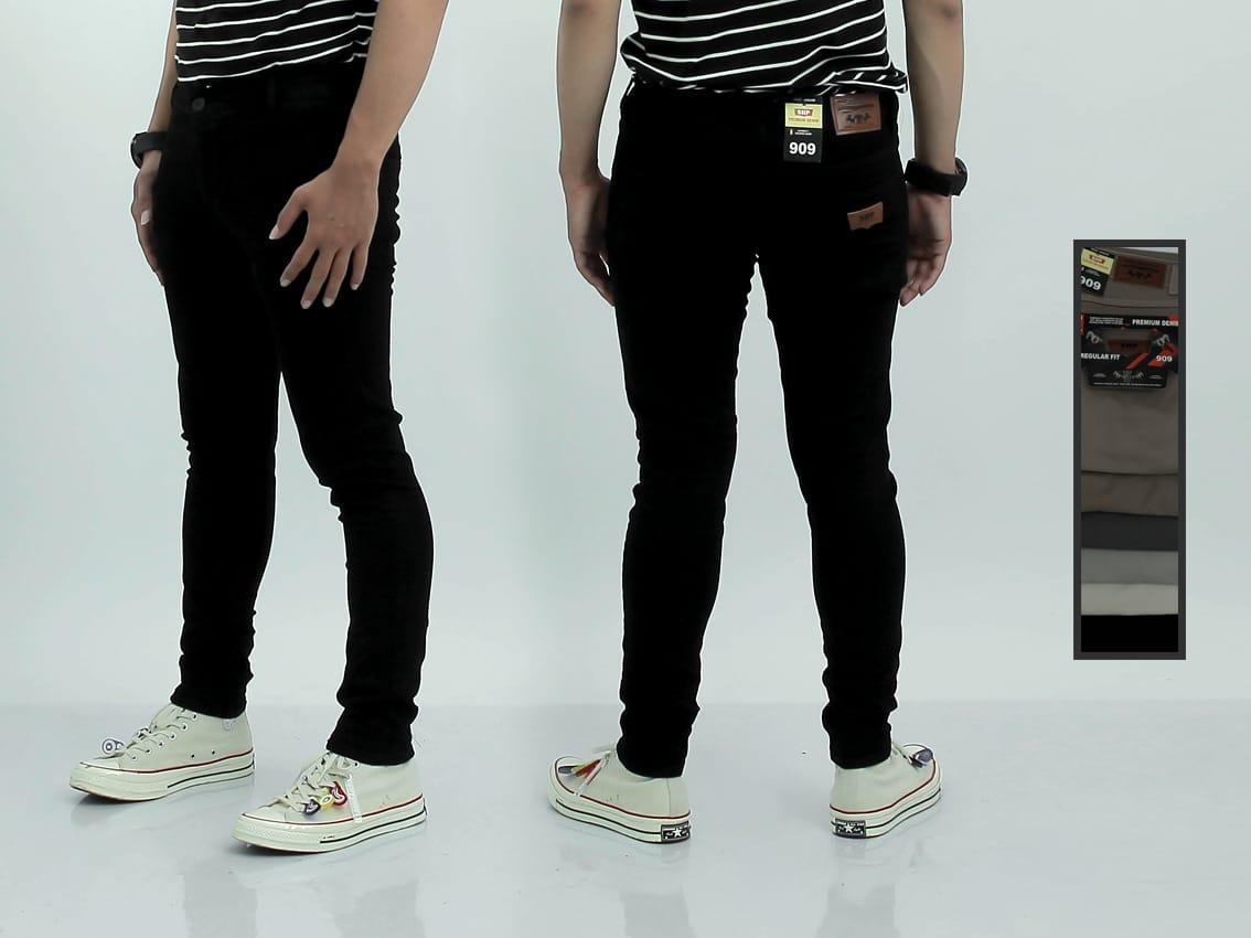jeans stret pensil 27-32 / jeans masa kini / jins anak muda / celana panjang jins / jeans modern / jeans trendy / jeans melar / hitam / maroon / latte / abu / putri nasya