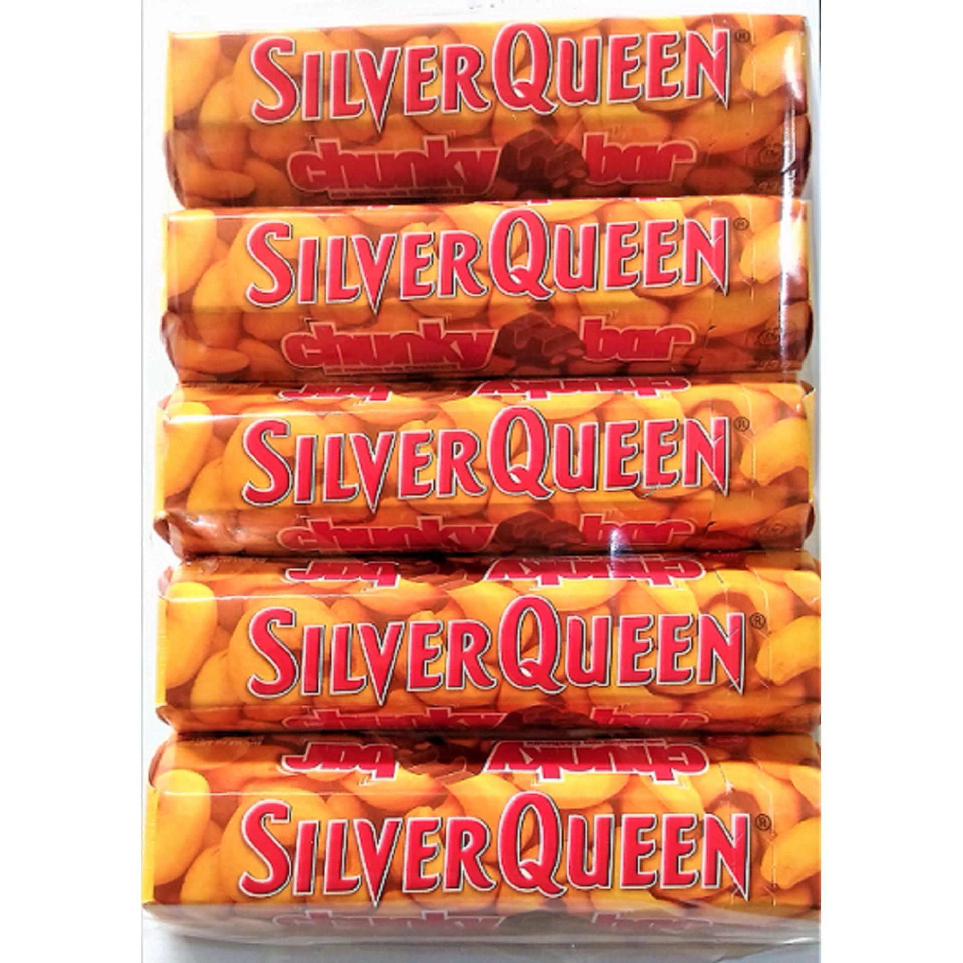 Review of Delfi Silverqueen Chunky Bar 5 pcs belanja murah - Hanya Rp38.640