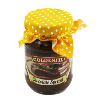 GOLDENFIL Selai Coklat XX-PR CHOCOLATE SPREAD 150 GR Spread Filling BPOM & MUI -