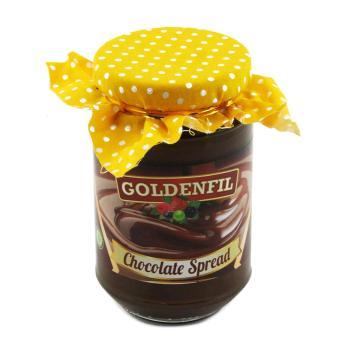 GOLDENFIL Selai Coklat XX-PR CHOCOLATE SPREAD 350 GR Spread Filling BPOM & MUI -