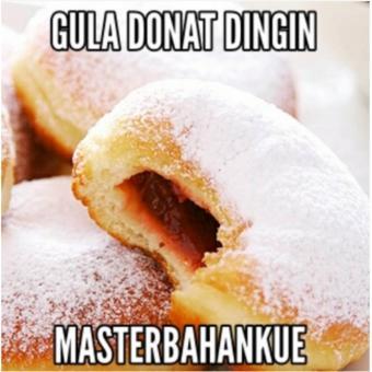 HBT Gula donat/dingin (putih) 500gr