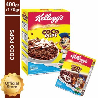 Coco Pops 400g Free Coco Loops 170g