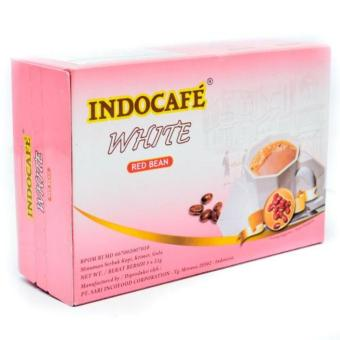 Harga Indocafe White Coffee - Red Bean