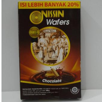 Harga Nissin Wafers Chocolate / Wafer Rasa Coklat 180g Murah