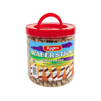 Harga Kogen Wafer Stik Coklat Astor Chocolate Wafer Stick Toples 600g