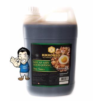 Kikkoman Soy Sauce- Kecap Jepang Jerigen 2L