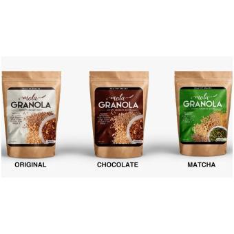 mola granola makanan enak sehat dan beernutrisi cocok untuk diet dan ibu hamil