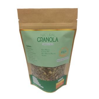 Natural Granola Rasa Matcha 100 gr [Isi 2 pcs]