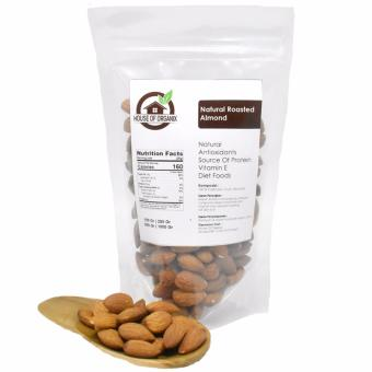 Natural Roasted Almond 500 Gr