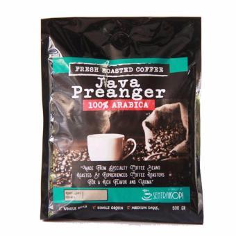 Sentra Kopi - Java Preanger Arabica Whole Bean / Biji Kopi Roasted Arabika 500 Gram