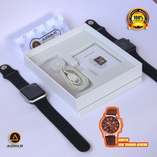 Jam Tangan Pintar Gratis Jam Tangan Geneva Import Terlaris / Smartwatch IWO 5 / Jam tangan