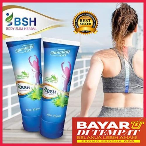 Obat Pelangsing Perut Herbal BPOM - Herbal - BSH Slimming Gel 80gr