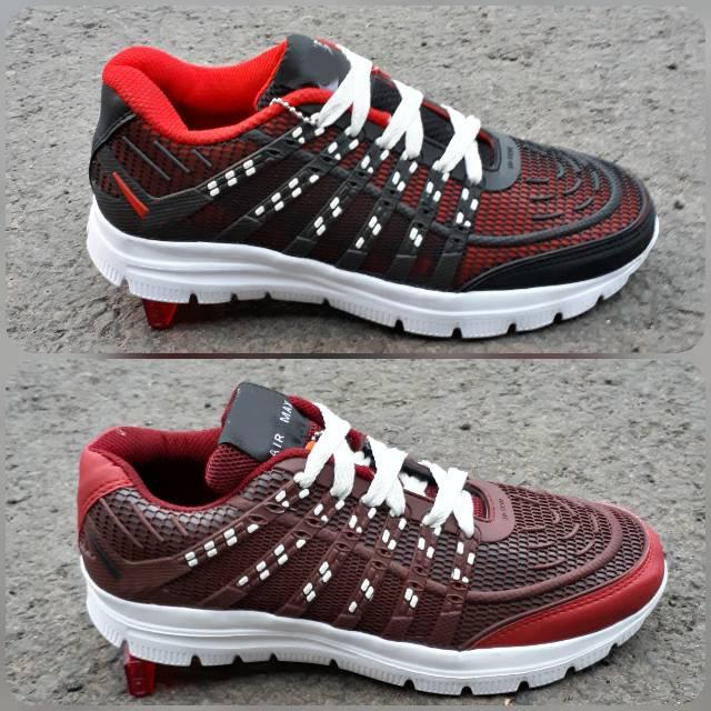 Detail Gambar Sepatu Sport Sporty/ Sneakers Murah Airmax 3D Skin/ Aneka Warna/ Casual Olahraga Pria Wanita/ Sepatu Sekolah Terbaru