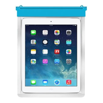 Zoe iPad 4 Waterproof Bag - Biru