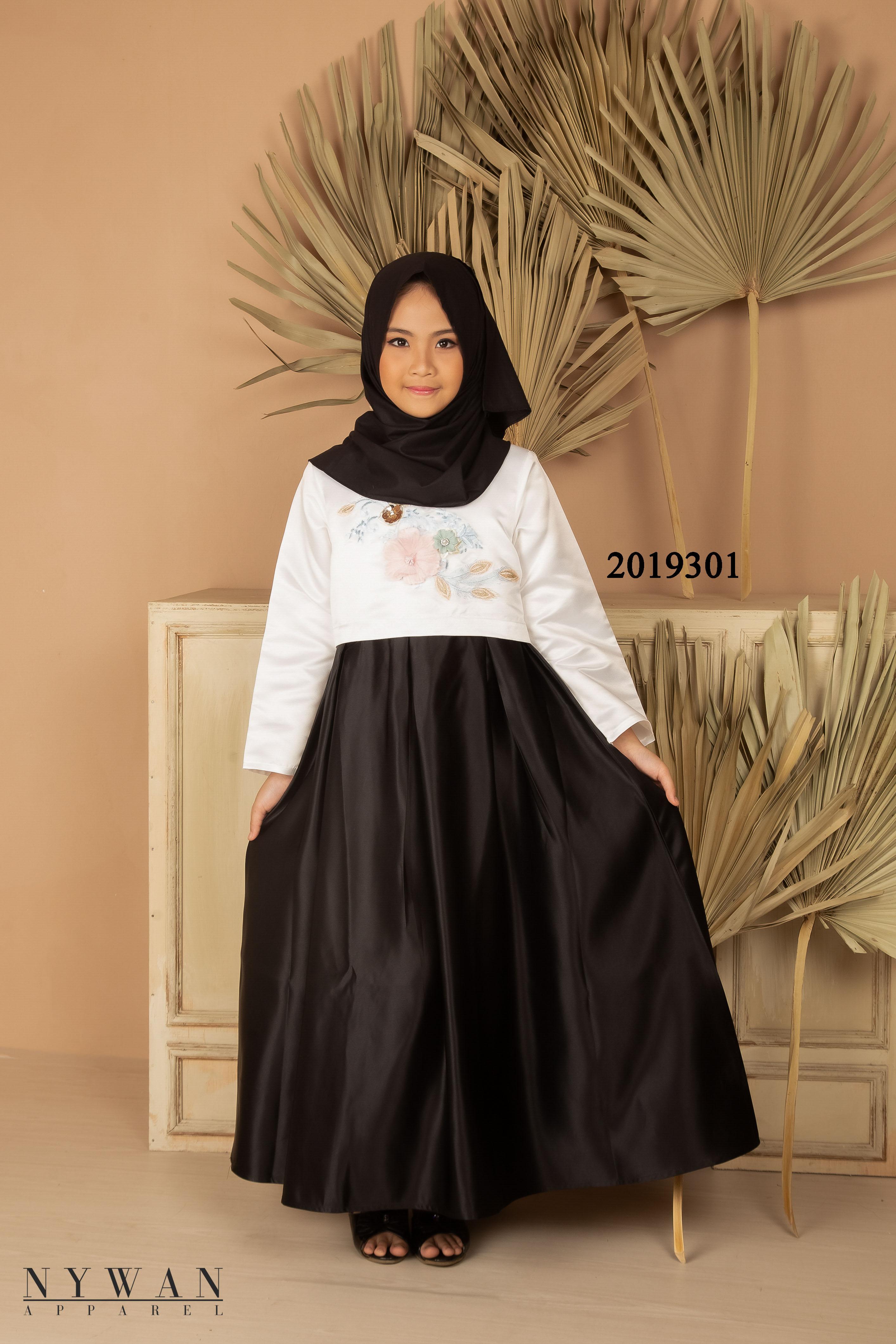 nywan apparel baju gamis pesta anak 303