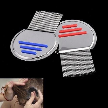... Sisir Serit Kutu Ketombe Rambut Gagang - Nit Lice Comb Stainless Anti Karat - Sisir Serit ...