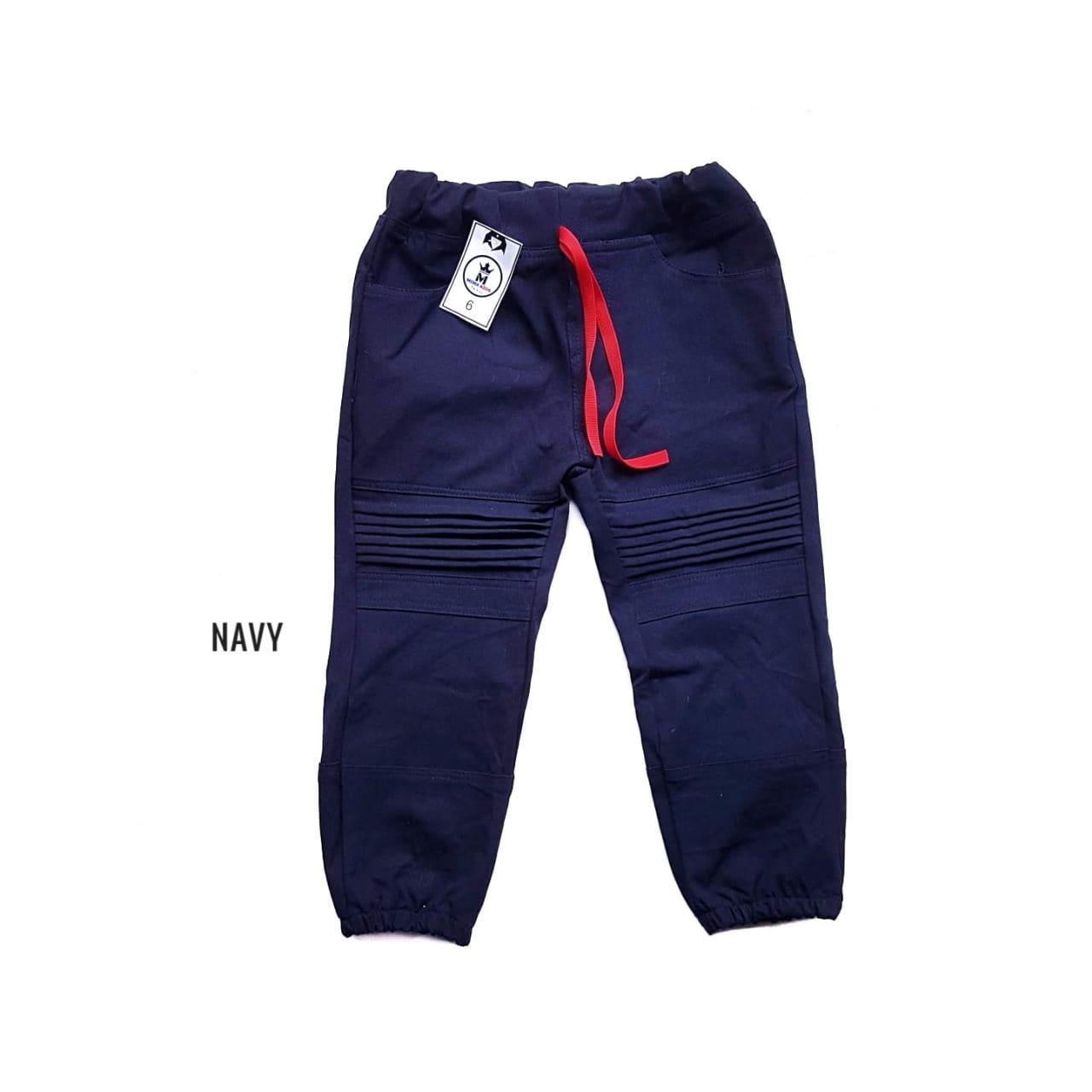 jogger sensen anak yang kece celana panjang lipat menggunakan karet