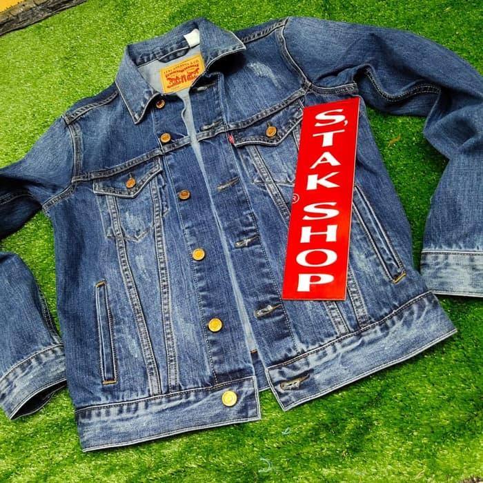 jaket levis pria original new arrival / jaket jeans pria / jaket pria  / jaket pria trendy / jaket asli / jaket levis original