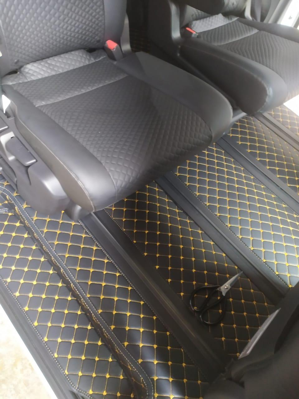 haima karpet mobil nissan serena c27 tahun si  full bagasi
