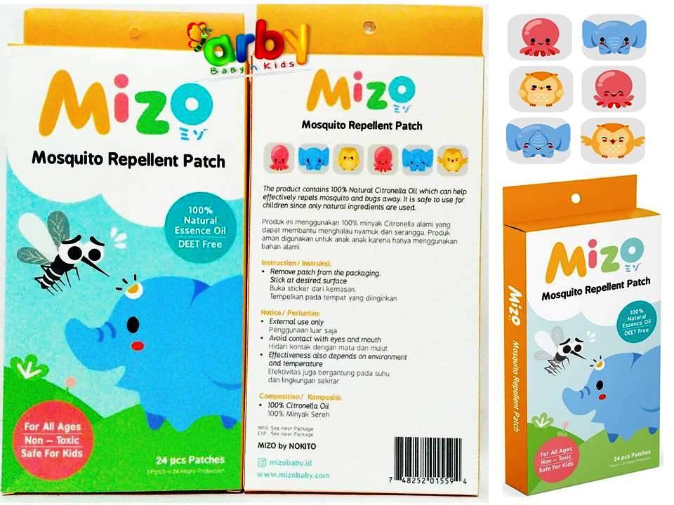 mizo stiker anti nyamuk (mosquito repellent patch)