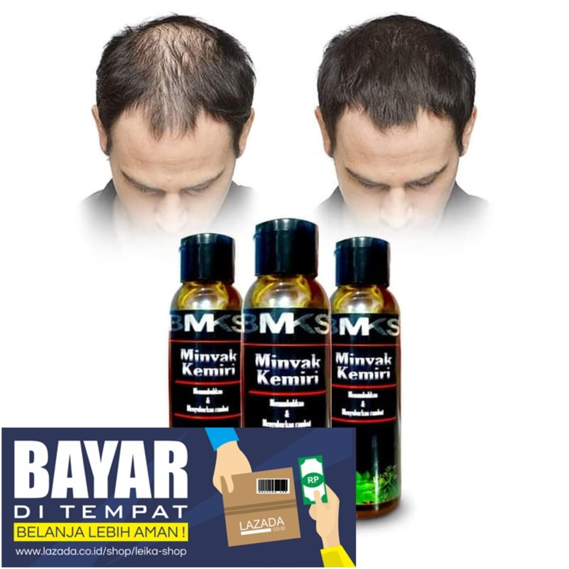 Minyak Kemiri Asli Original 100% BMKS BPOM / Minyak Kemiri Penumbuh Rambut Minyak Kemiri Untuk