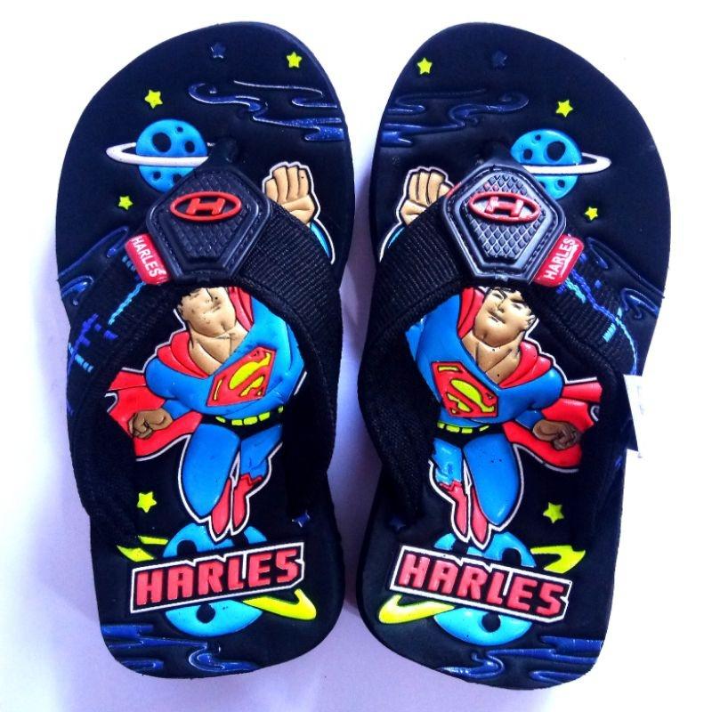 sandal anak-anak lucu superman