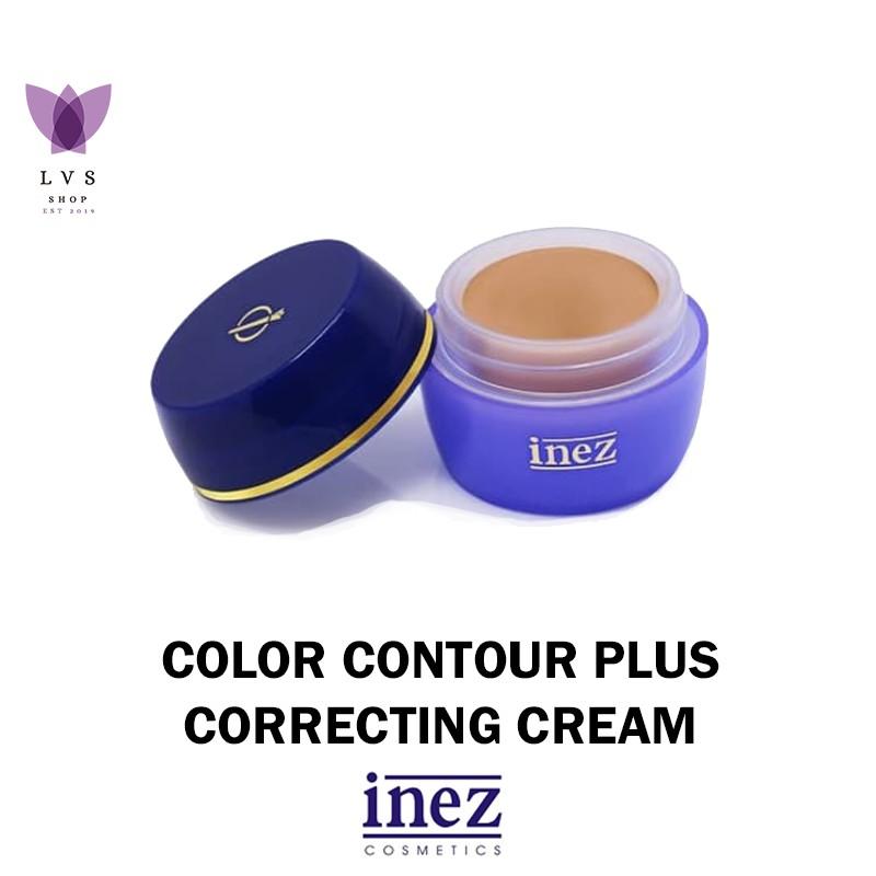 inez – correcting cream ( 4 warna ) – lvs shop