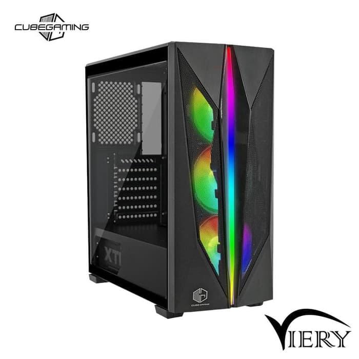 all new pc desktop komputer rakitan gaming editing rendering i5 10400 cometlake gtx1660 super 6gb ddr6 ram 8gb ddr4 ssd120gb hdd500gb