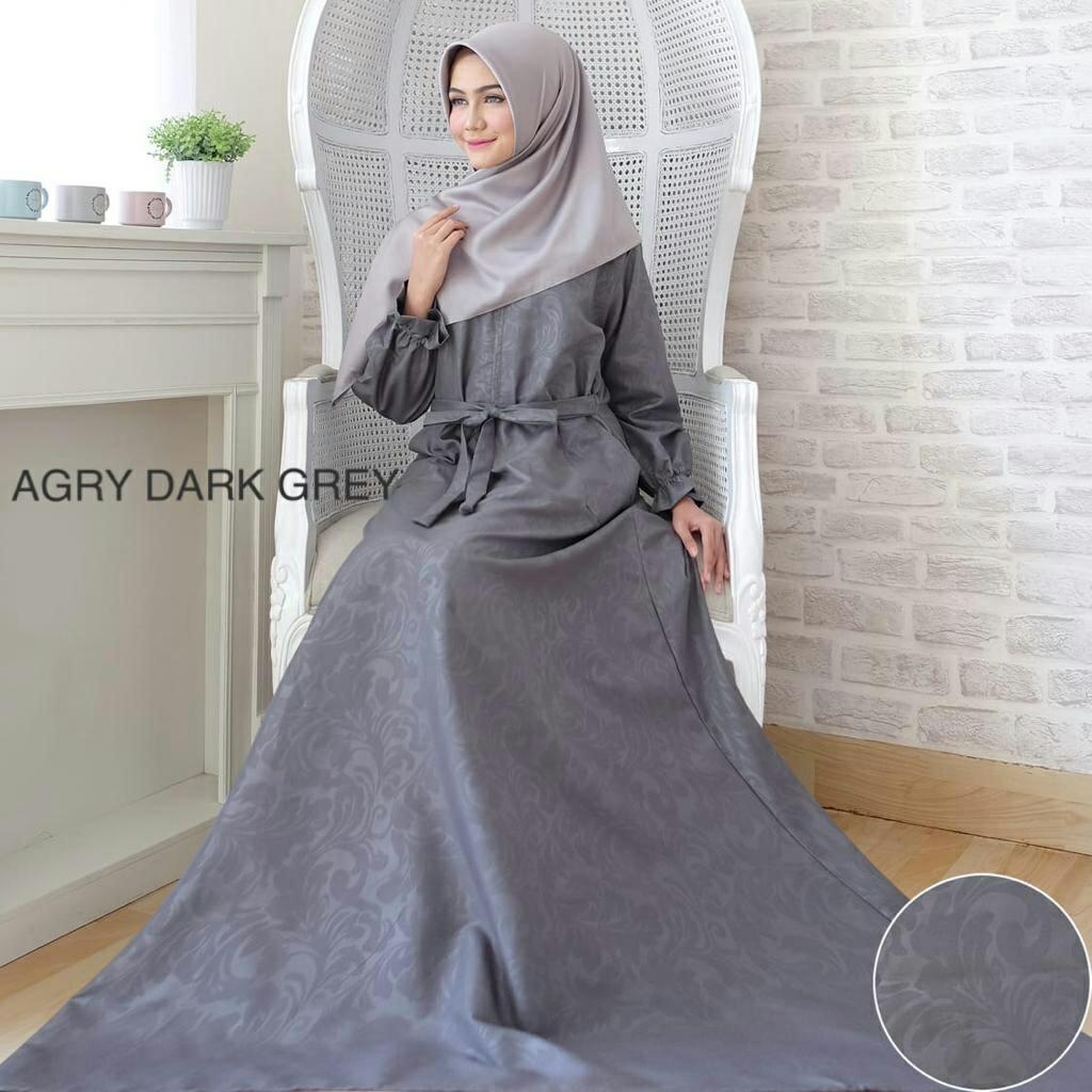 kbs-Gamis Syari Muslim Dress Hijab Muslimah Atasan Wanita Longdress Busui Terbaru - 3