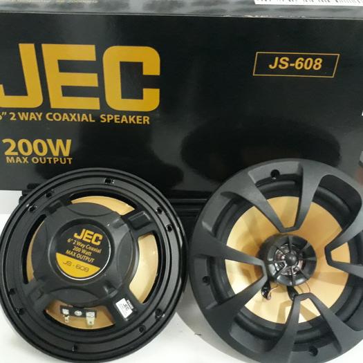 jec js-608 speaker 6  coaxial 2 way