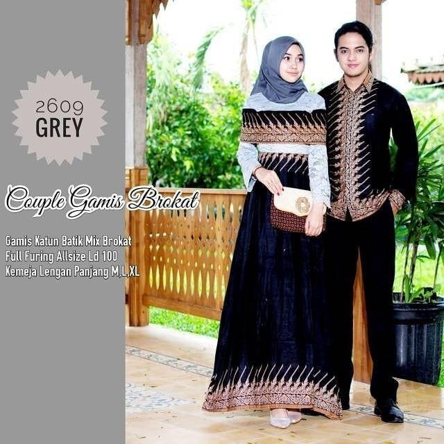 Review Termurah Baju Batik Couple Baju Muslim Wanita Terbaru 2019