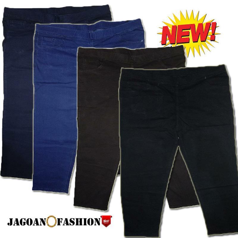jagoan fashion -celana jeans pria jumbo terlaris / celana over size jeans pria pinggang karet / celana plus size pria melar model pencil / celana big size pria  / celana karet panjang pria big size 39 40 41 42 43 44 / celana jeans pinggang terbesar