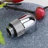 1 PC G1/4 Thread 90 Derajat Rotary Tube Adapter untuk PC Sistem Pendingin Air (Silver) -Intl - 2
