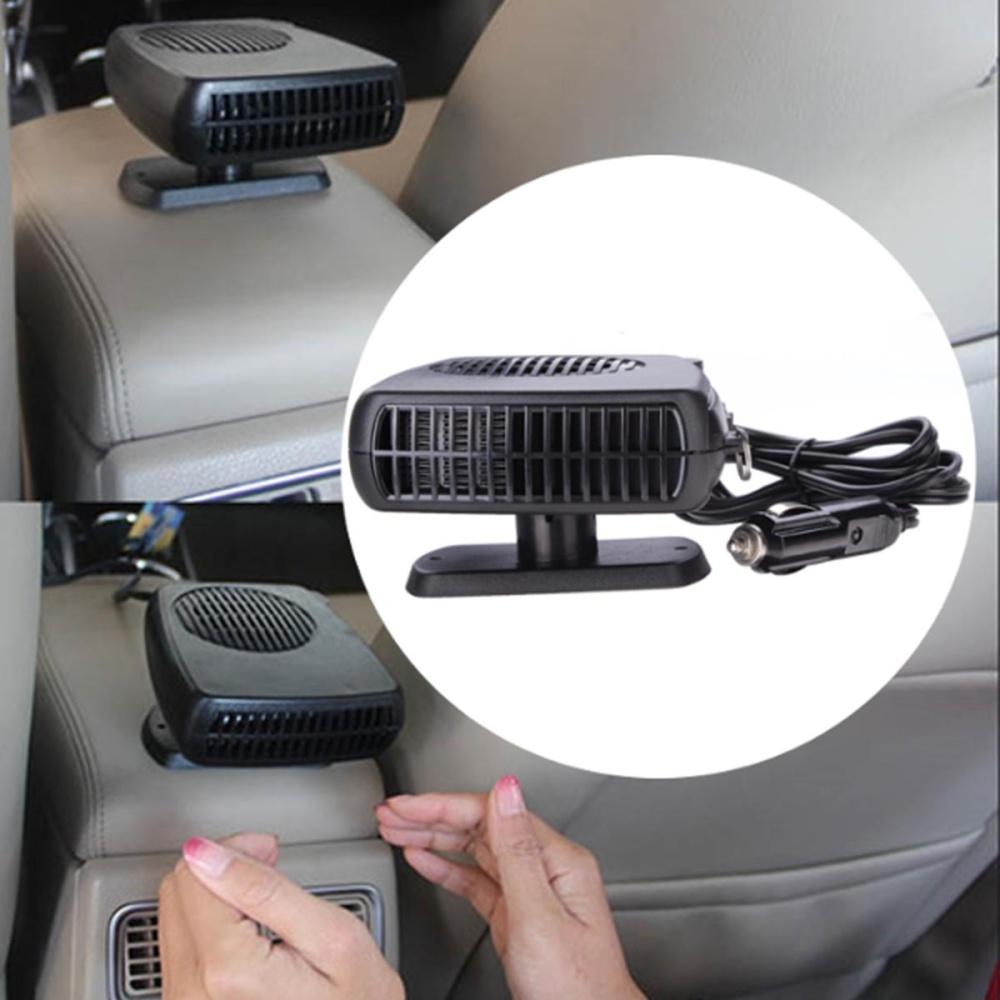 2 In 1 Auto Mobil Heater Pemanas Kipas Pendingin Defroster Demister DC 12 V 150 W