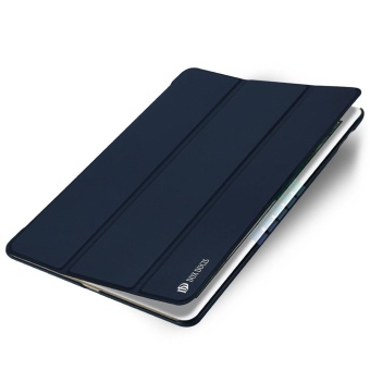 2017 DUX DUCIS Luxury Ultra TRI Flip Stand Leather Cover Case untuk IPad Air 2-