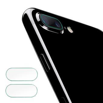 2 Pcs HD Clear Rear Fiber Glass Pelindung Lensa Kamera Camera Ring Pelindung Guard Film untuk